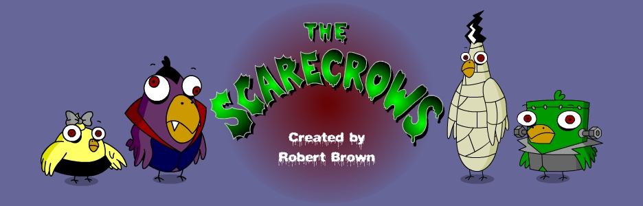 The Scarecrows are a family of SCARY crows!Hubble Bubble Toil and Trouble are starring in their own animation webisodes!